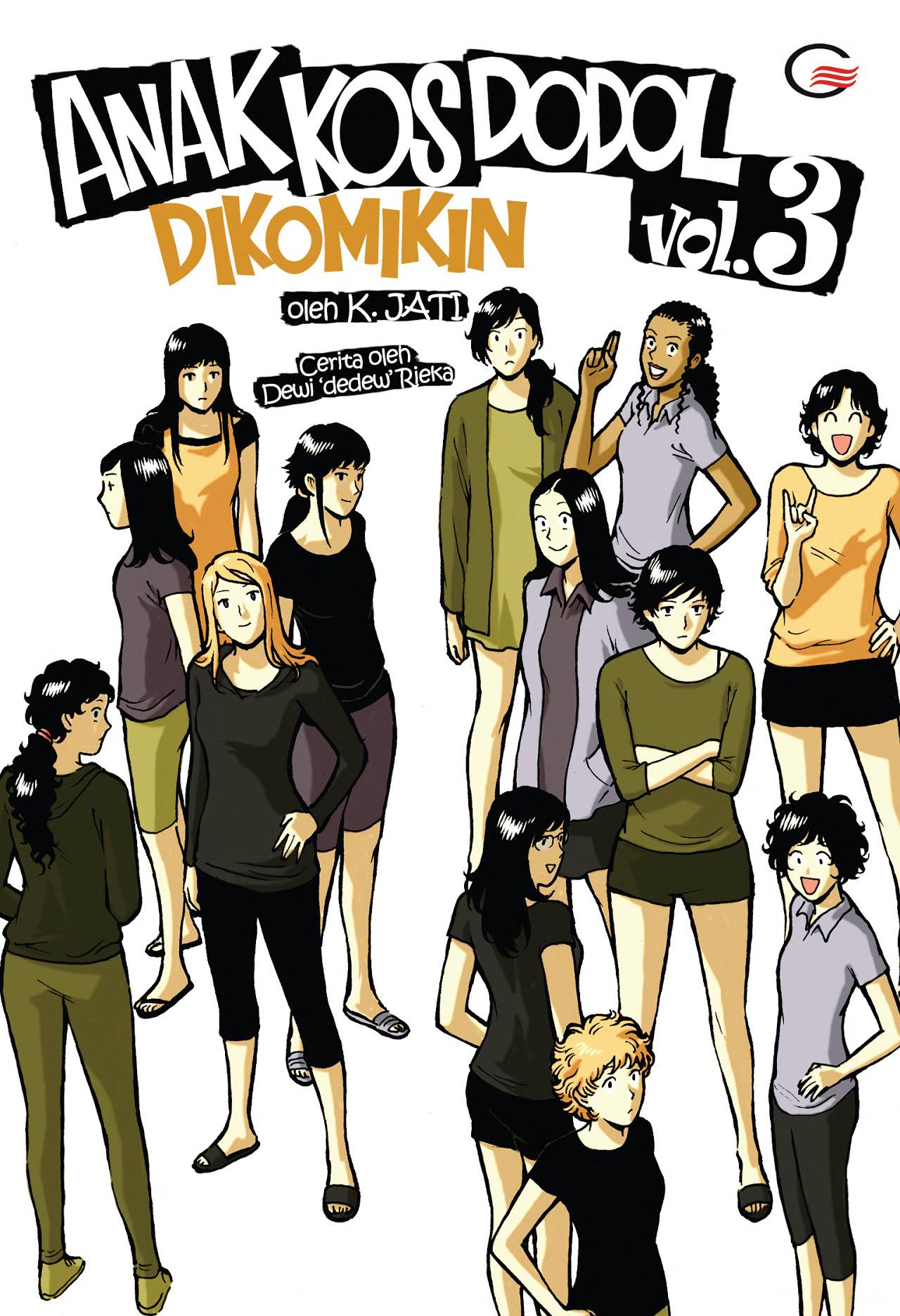 Anak Kos Dodol Dikomikin Vol.3