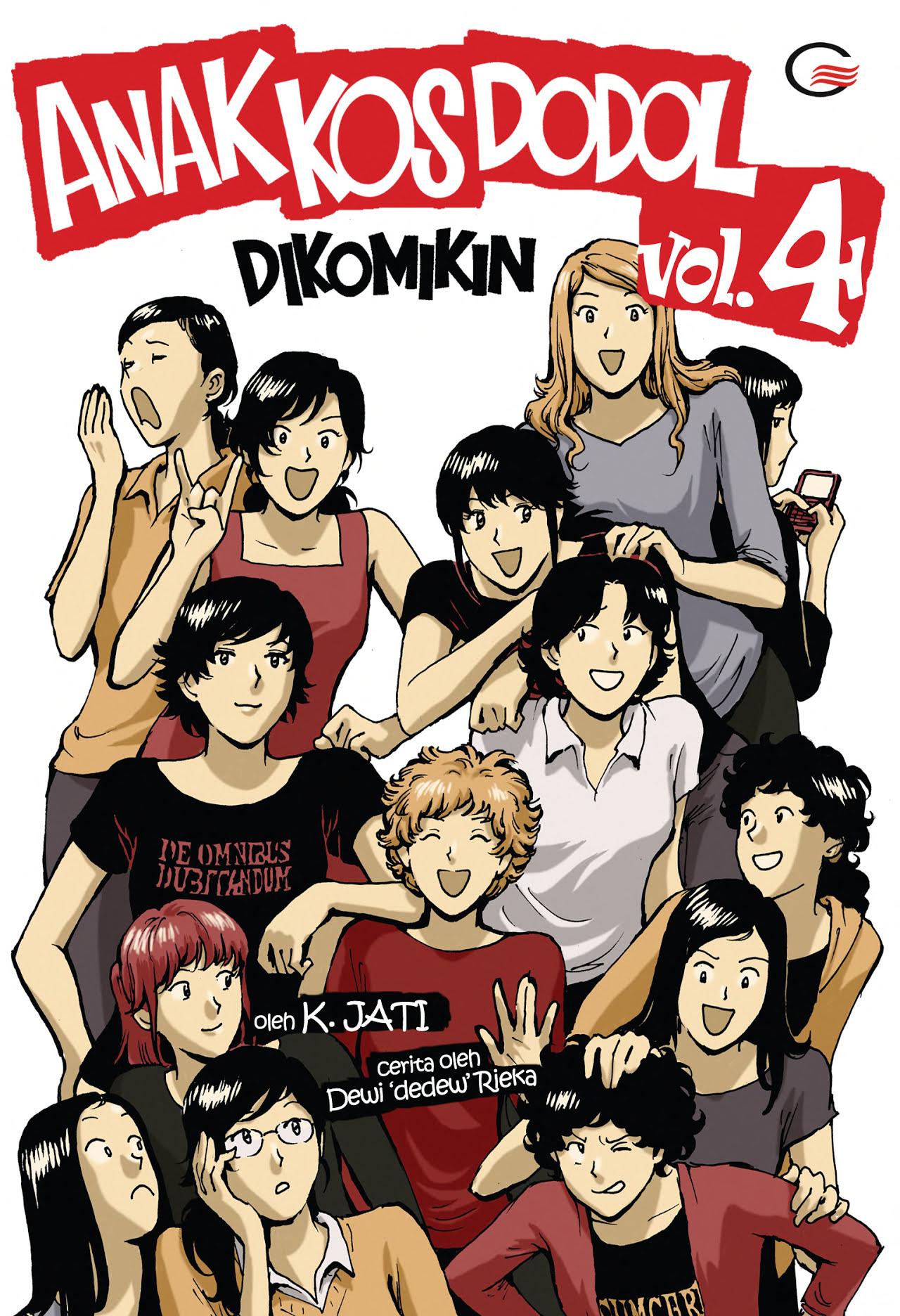 Anak Kos Dodol Dikomikin Vol.4