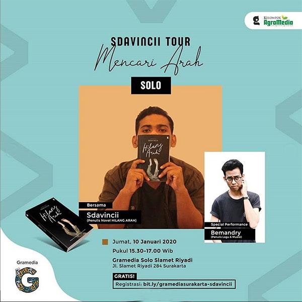 SDAVINCII TOUR Mencari Arah